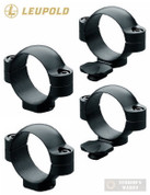 "Leupold Standard LOW 1"" Scope RINGS 2-PACK Matte Black 49910"