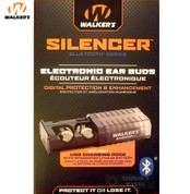 Walker's SILENCER EARBUDS Bluetooth Rechargeable NRR 26 GWP-SLCR-BT
