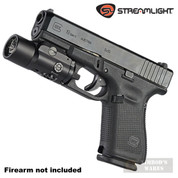 Streamlight TLR-VIR II WeaponLight 300 Lumens + Infrared BLACK 69192