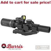 Burris MTAC 1-4x24mm SCOPE + Red Dot + Mount KIT 200426-FF - Add to cart for sale price!
