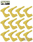 TapCo PISTOL CHAMBER FLAG Safety Tool 12-PK Yellow 16801
