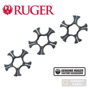 Ruger SP101 9mm MOON CLIPS 3-pk Stainless Steel 90516 OEM