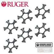 Ruger SP101 9mm MOON CLIPS 6-pk Stainless Steel 90516 OEM