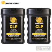 "Break Free CLP Weapon Firearm WIPES 40-pk 6.75""x3"" BFI-WW"