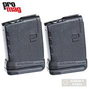 ProMag AR-15 5.56 10 Round ROLLER ANTI-TILT FOLLOWER Magazine 2-PACK RM-10