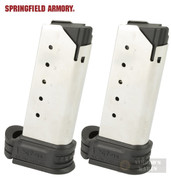 Springfield XDS XD-S .45 ACP 6 ROUND MAGAZINE 2-PACK Extended XDS5006