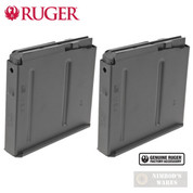 Ruger Precision Rifle .300 Win Mag .300 PRC 5 Round Metal MAGAZINE 2-PACK 90682