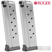 Ruger SR1911 Competition 9mm 10 Round MAGAZINE 2-PACK 90666