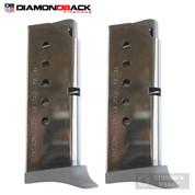Diamondback DB380 .380 ACP 6 Round MAGAZINE 2-PACK w/ Extensions DB380-MAGE