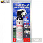 Frontiersman BEAR Pepper SPRAY 35ft Range 9.2 oz FBAD06