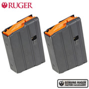 Ruger AMERICAN RANCH RIFLE / AR-556 MPR .350 Legend 10 Round Steel MAGAZINE 2-PACK 90695