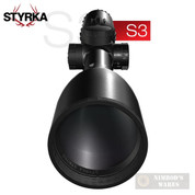 STYRKA S3 4x32mm Rimfire RIFLE SCOPE PLEX Reticle 1/4 MOA ST-91000
