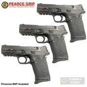 """Pearce Grip S&W M&P Shield EZ .380 ACP GRIP EXTENSION 3-PACK 0.5"""" PG-EZ"""