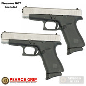 "Pearce Grip GLOCK 43X 48 G43X G48 GRIP EXTENSION 2-PACK 5/8"" PG-48"