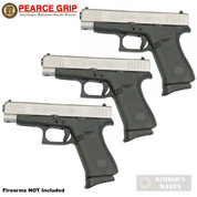 "Pearce Grip GLOCK 43X 48 G43X G48 GRIP EXTENSION 3-PACK 5/8"" PG-48"