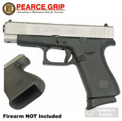 Pearce Grip GLOCK 43X 48 GRIP EXTENSION + Frame Cavity INSERT PG-48 PG-FI48