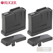 Ruger PRECISION / SCOUT .308 6.5 Creedmoor .243 5 Round MAGAZINE 2-PACK AI-Style 90561