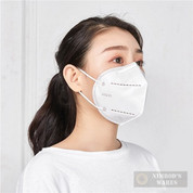 KN95 Protective Face Mask PPE 5-layers Keeps out germs, dust, droplets and airborne particles
