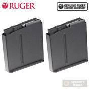 Ruger PRECISION RIFLE .338 LAPUA 5 Round MAGAZINE 2-PACK 90683