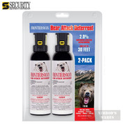 Frontiersman BEAR Pepper SPRAY TWO-PACK 30ft Range 7.9 oz FBAD0303