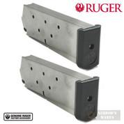 Ruger P90 P97 .45 ACP 8 Round MAGAZINE 2-PACK OEM 90001