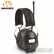 Walker's EAR MUFFS NRR 25dB Digital AM FM / MP3 CD Input GWP-RDOM
