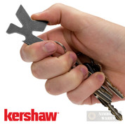 Kershaw K-TOOL Bottle Opener Screwdriver Lanyard Hole Blackwash K-TOOL