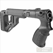 FAB Remington 870 Tactical Adj. Buttstock w/ Adj. Cheekpiece UAS870-B
