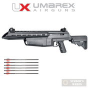 UMAREX AirJavelin AIR ARCHERY Rifle Bolt Action CO2 300fps 3 + 3 Arrows 2252662