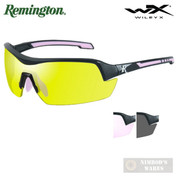 Remington Wiley X Shooting GLASSES Ballistic 3 LENSES Women's RE203