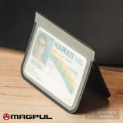 Magpul DAKA Everyday Folding WALLET Ultra-Slim Transparent ID Pocket 7 Cards MAG1095-BLK