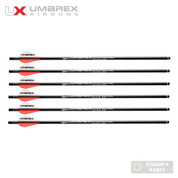 UMAREX AIRJAVELIN AIR ARCHERY ARROWS WITH FIELD TIPS 6-PACK 2252663