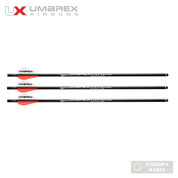 UMAREX AIRJAVELIN AIR ARCHERY ARROWS WITH FIELD TIPS 3-PACK