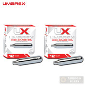 Umarex CO2 12 Gram CARTRIDGES 24-PK Airguns Paintball 2252533