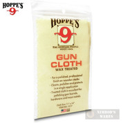 Hoppe's WAX TREATED GUN CLOTH Clean Polish Protect Wood & Metal 1217