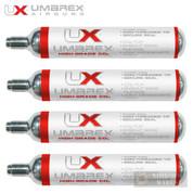 Umarex CO2 x 4 Cartridges 88 GRAMS 2252534