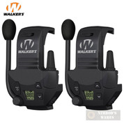Walker's Razor WALKIE TALKIE Attachment 2-PACK 3 Miles 22 Channels GWP-RZRWT
