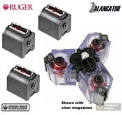 Ruger 10/22 BX-1 .22LR 10 Round MAGAZINES 3-Pk + Alangator TRIMAG Clip Connector 90451 TM1