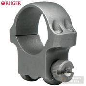 Ruger 30mm Medium SCOPE RING (1) Matte Black 4B30HM 90321
