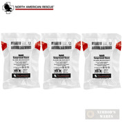 "NAR Compressed GAUZE 4.5"" x 4.1yds. 6-ply Cotton First Aid 3-PACK 30-0052"