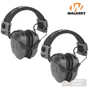 WALKER's Xcel 500BT EAR MUFFS 2-PACK Digital Voice Clarity & Bluetooth 26dB GWP-XSEM-BT