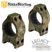 """Legacy Nikko Sterling NIGHTEATER SCOPE RINGS 1"""" Fits NP31042DST ZNPMWMDST"""
