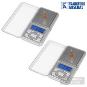 Frankford Arsenal DS-750 Digital RELOADING SCALE 2-PACK 0.1 Grain Accuracy 205205