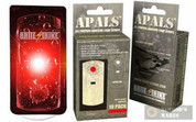BRITE-STRIKE APALS10-RED Adhesive Light Strips RED x 10 Pk.