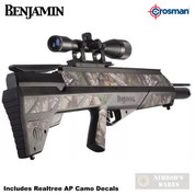 Benjamin PIONEER AIRBOW + Scope 3 Arrows Sling/Quiver 450 fps BABPNBX