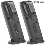 CZ 75 Compact 9mm 10 Round MAGAZINE 2-PACK Factory 11104