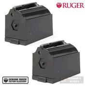 RUGER 77/17 77/22 American 96/17 JMX-1 22WMR 17HMR 9 Round MAGAZINE 2-PACK 90076