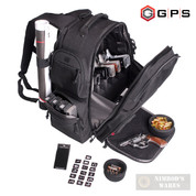 G-Outdoors EXECUTIVE BACKPACK 5 Handguns Magazines Laptop and MORE GPS-1812BPB
