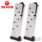 RUGER SR1911 45ACP 8 Round MAGAZINE 2-PACK 90365