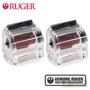 Ruger BX-1 10/22 SR Rifle 77/22 .22LR 10 Round CLEAR MAGAZINE 2-PACK 90223